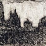 Folla in Piazza del Comune