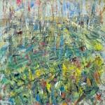 campo con fiori gialli